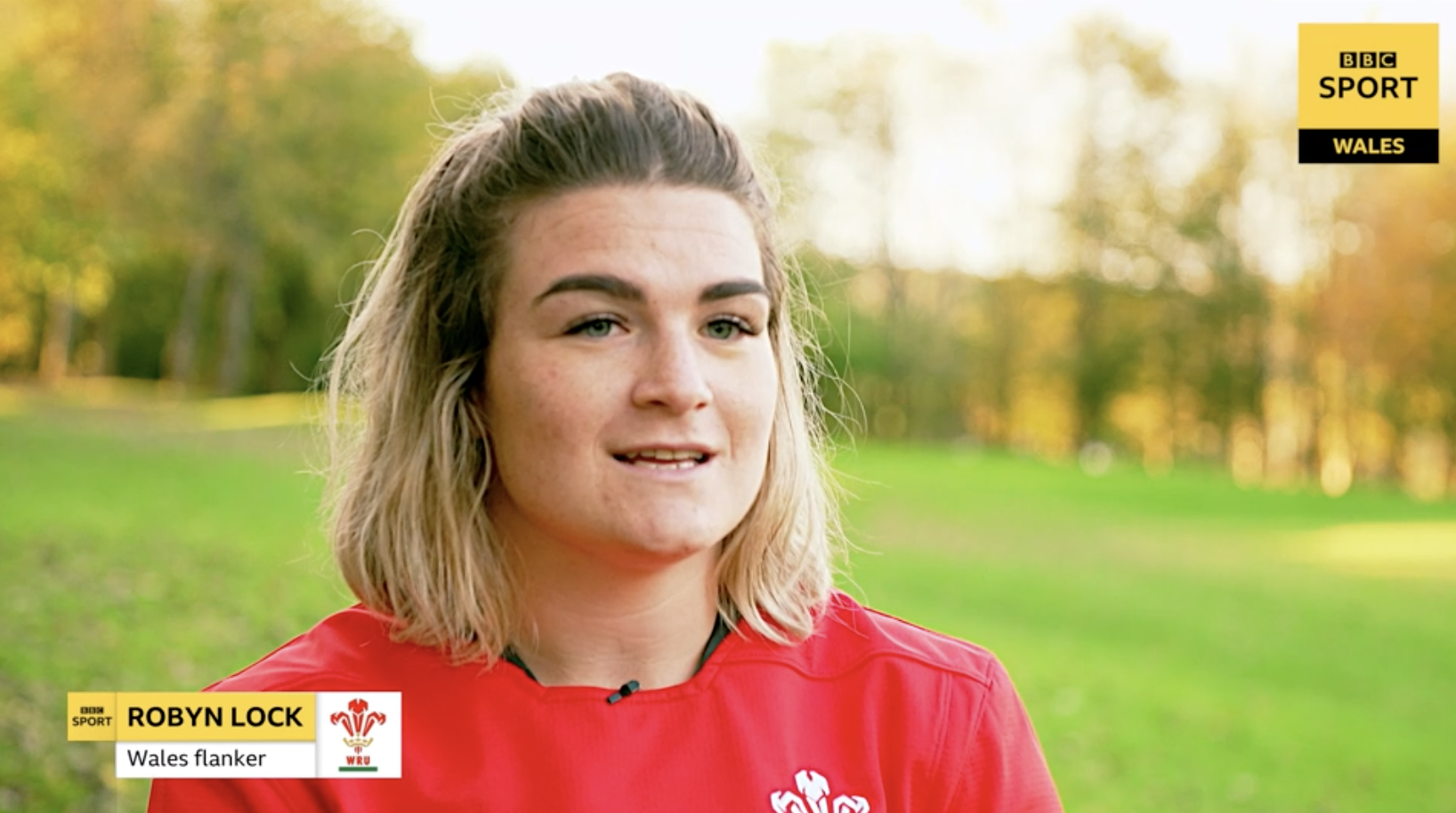 didi rugby franchise owner Robyn Lock wearing her Wales jersey