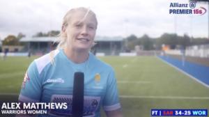 Alex Matthews will lead didi rugby Worcester
